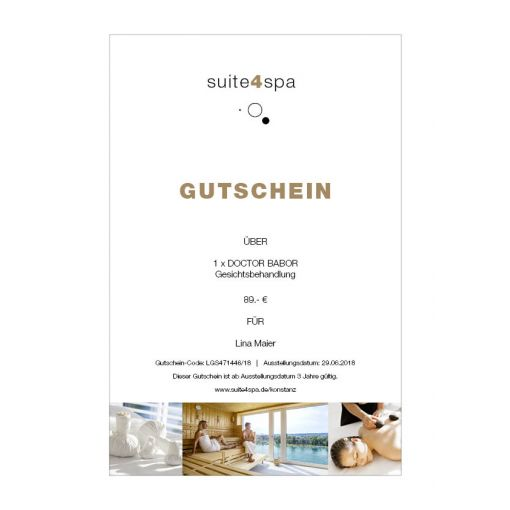 Hotel 47° | DOCTOR BABOR Recontouring Treatment - Gesichtsbehandlung