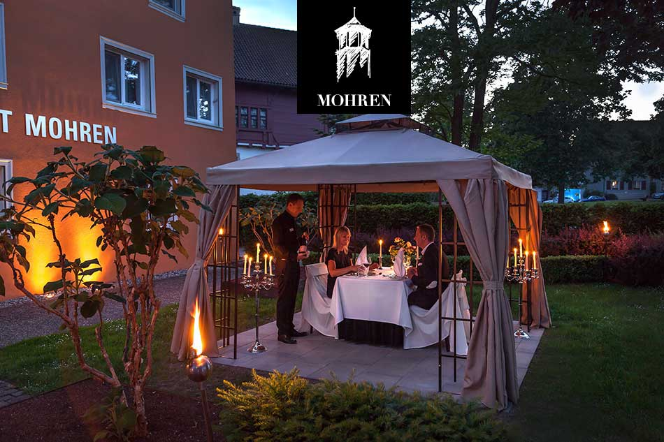 Candle Light Pavillon Hotel Mohren